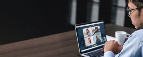 Work from home video conference